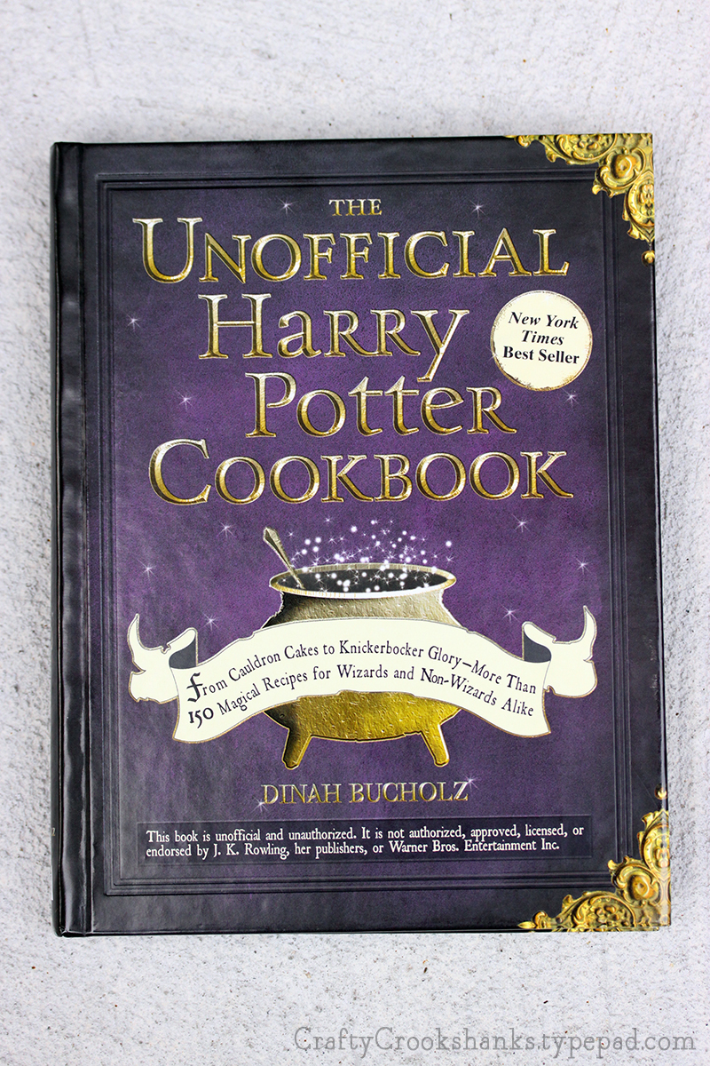 Crafty Crookshanks Unofficial Harry Potter Cookbook Cover