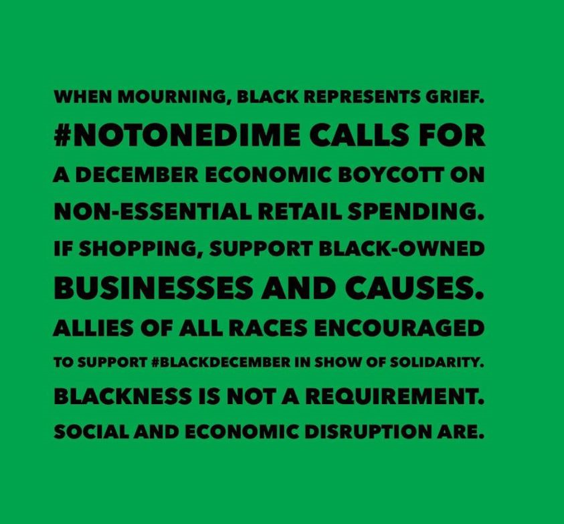 Urban Cusp: #BlackDecember