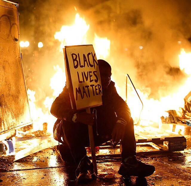 Urban Cusp: Ferguson Protestor