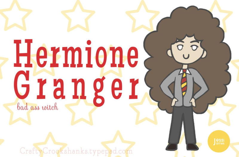 Crafty Crookshanks Hermione Is A Bad Ass