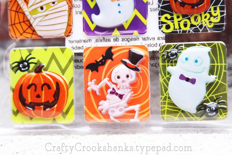 Crafty Crookshanks: Halloween Stickers Giveaway, Close-Up of Set B
