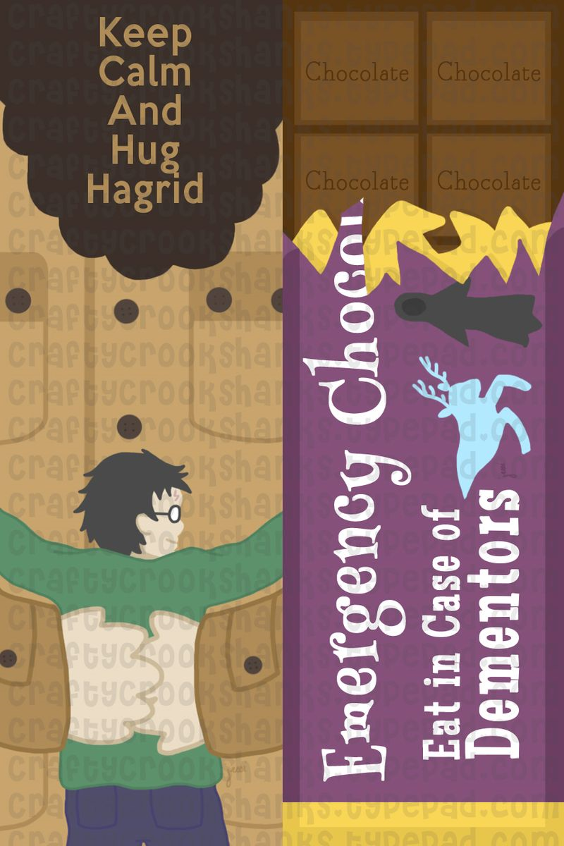 Crafty Crookshanks: Harry Potter Goodness: Bookmarks