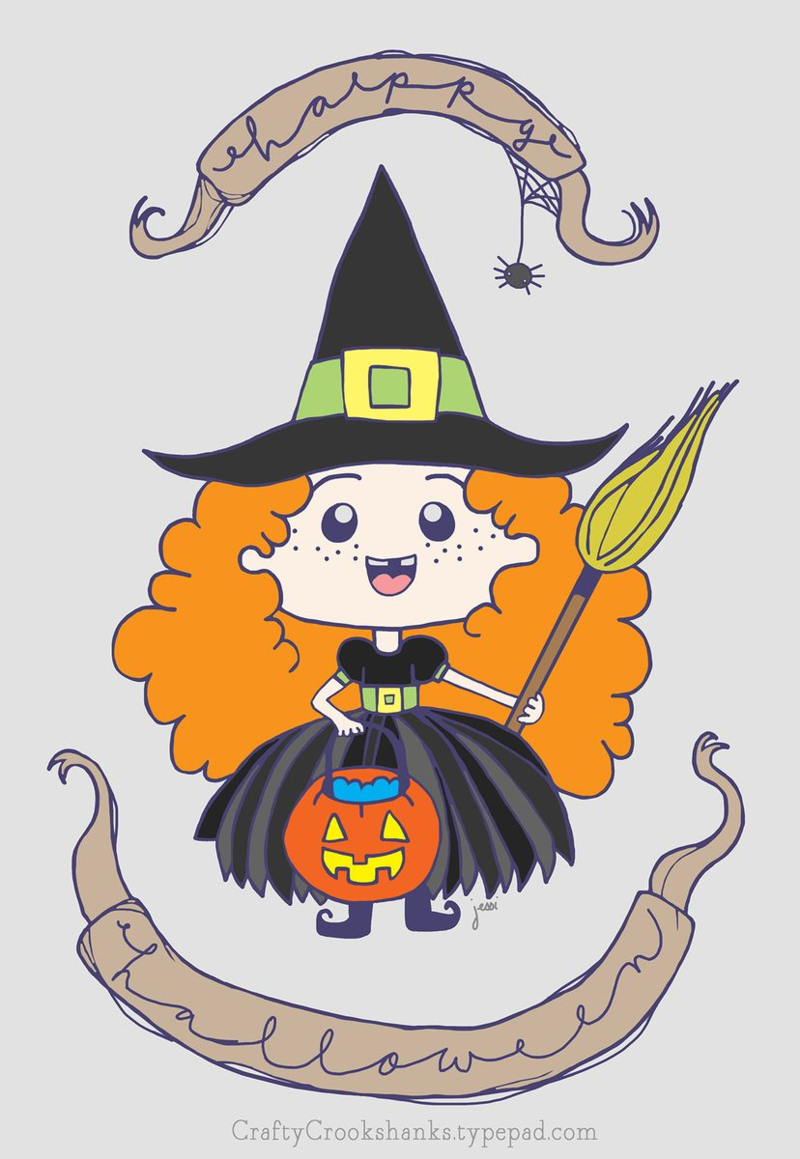Crafty Crookshanks: Happy Halloween!