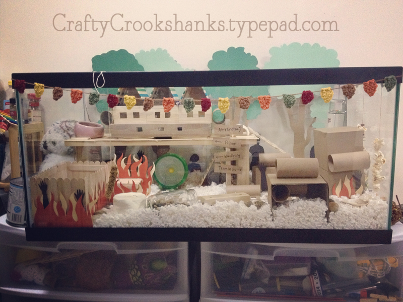 Crafty Crookshanks: Example of Hamster Tank