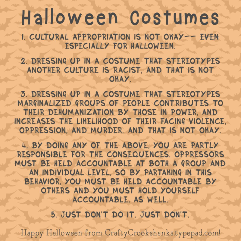 Crafty Crookshanks: Feminist Friday: Halloween and Cultural Appropriation