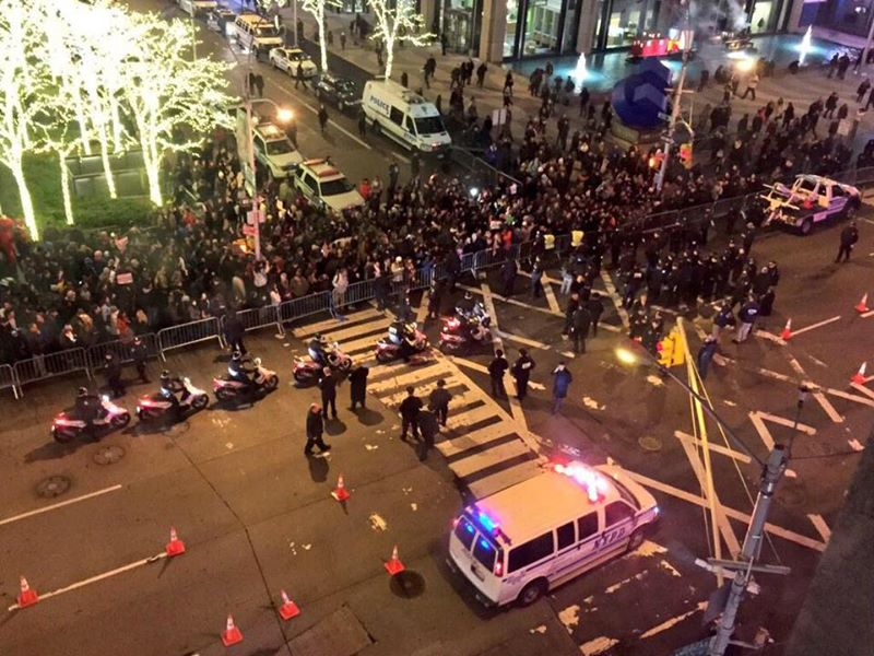 Urban Cusp: NYC Protests